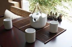 Positionnement de thé Photo stock