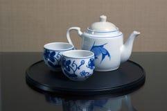 Positionnement de thé Photos libres de droits