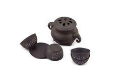 Positionnement de thé chinois Photo stock