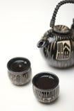 Positionnement de thé en céramique Photographie stock