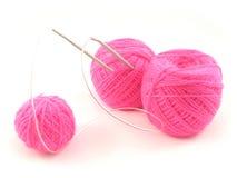 positionnement de tricotage photo libre de droits