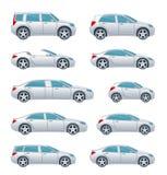 Positionnement de véhicule Photo stock
