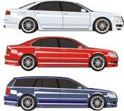 Positionnement de véhicule Photos stock
