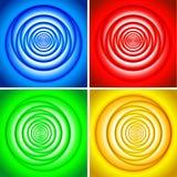 Positionnement de vortex illustration de vecteur