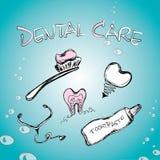 positionnement dentaire Image libre de droits