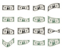 Positionnement du dollar Photo stock