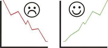 Positionnement et sourire de statistique Photographie stock libre de droits