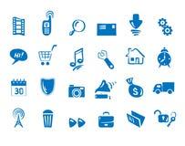 Positionnement - graphismes pour le Web et les transmissions illustration libre de droits
