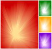Positionnement léger abstrait de fond Images libres de droits