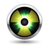 Positionnement lustré convexe coloré de vecteur de boutons Photographie stock