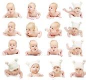 Positionnement nouveau-né de chéri photo libre de droits