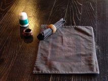 Positionnement traditionnel de table Photographie stock