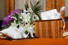 Positionnement Wedding Images libres de droits