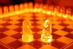 Positionnements d'échecs Images libres de droits