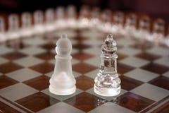 Positionnements d'échecs Photo stock