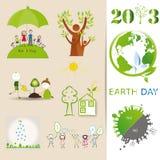 Positionnements d'écologie Photo libre de droits