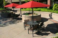 Positionnements de Tableau de patio photo stock