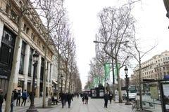 Positions françaises de rue Photo libre de droits