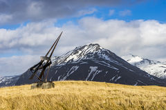 Positions islandaises Images libres de droits