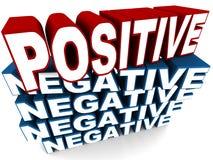 positiv Lizenzfreie Stockfotos