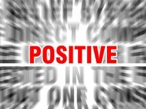 positiv stock abbildung