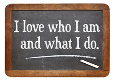 Positive affirmation words royalty free stock image
