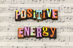 Positive attitude energy believe mindset help helping teach typography font. Positive attitude energy believe mindset help helping teach letterpress type royalty free stock photo