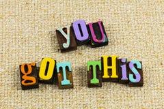 Positive attitude finish job accomplishment success ability