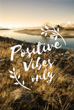 Positive Attitude Motivation Inspiration Thinking Concept Royalty Free Stock Photos