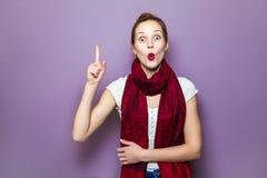 Positive Ausdrücke des menschlichen Gesichtes, Gefühle, Gefühlskörpersprache Lizenzfreie Stockfotografie