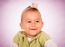 Positive baby Royalty Free Stock Photos