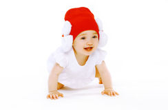 Positive baby Royalty Free Stock Image