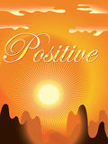 Positive background Stock Photography