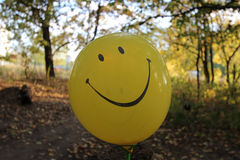 Positive balloon Stock Photos