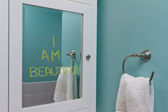 Positive body image Royalty Free Stock Photography