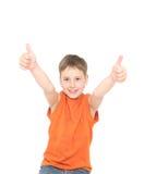 Positive boy Stock Photo