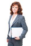 Positive business woman Stock Photography