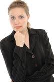 Positive business woman Stock Photos