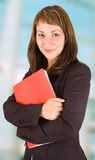 Positive business woman Royalty Free Stock Image