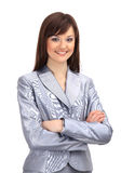 Positive business woman smiling Royalty Free Stock Photography