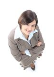 Positive business woman smiling Stock Photo