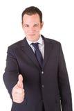 Positive Businessman Royalty Free Stock Photo