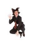 Positive businessman Stock Image