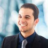 Positive businessman portrait Stock Images