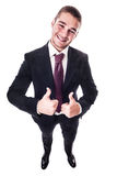 Positive businessman Stock Photography
