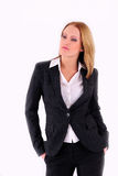 Positive businesswoman Stock Photography