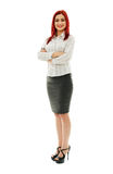 Positive businesswoman Royalty Free Stock Photo