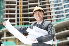 Positive constructor Royalty Free Stock Photo