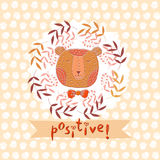 Positive16 Royalty Free Stock Photography