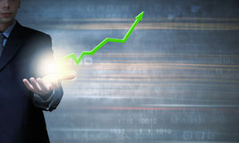 Positive dynamics Royalty Free Stock Photo